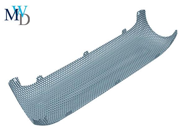 不锈钢网罩喷粉喇叭网耐盐雾过滤网定制