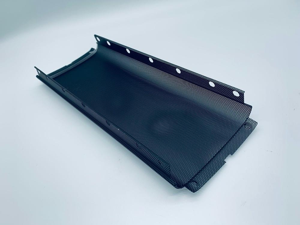 SPCC出音网喷漆黑色卡扣安装铁网罩