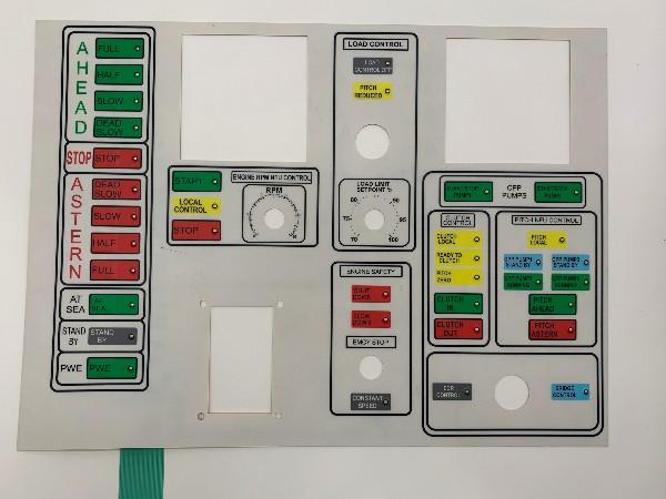 LED薄膜开关 线路按键面板