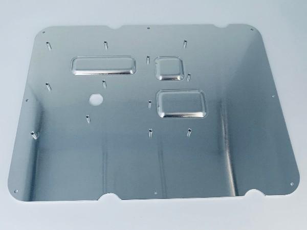 厂家定制单面附保护膜拉伸突包铆钉铝板