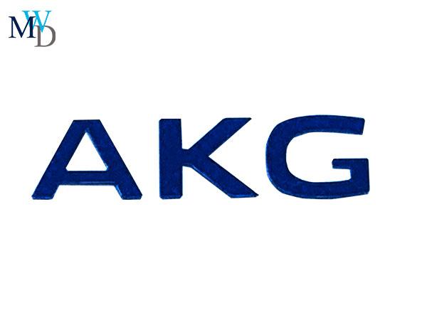 AKG爱科技PET logo