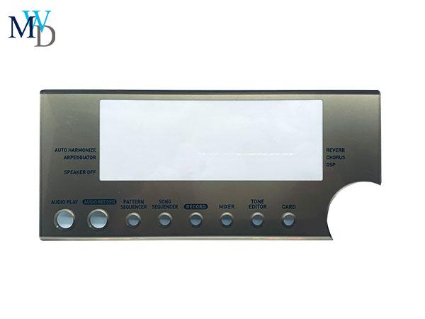 亚克力镜片 PC镜片 PMMA镜片丝印定制加工