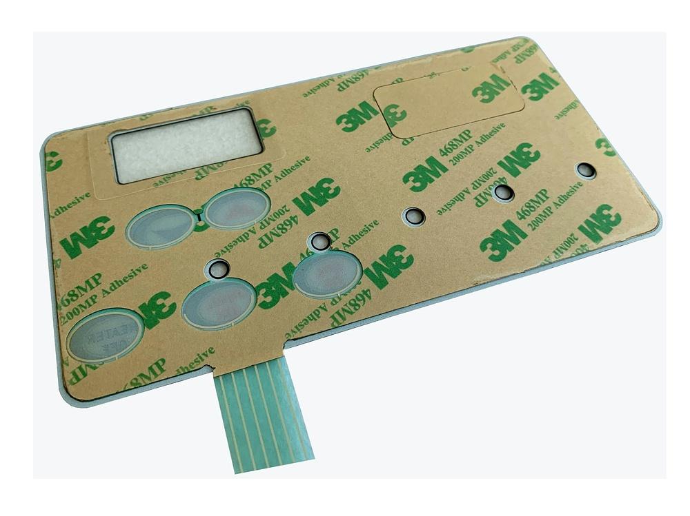 水处理系统线路按键面板