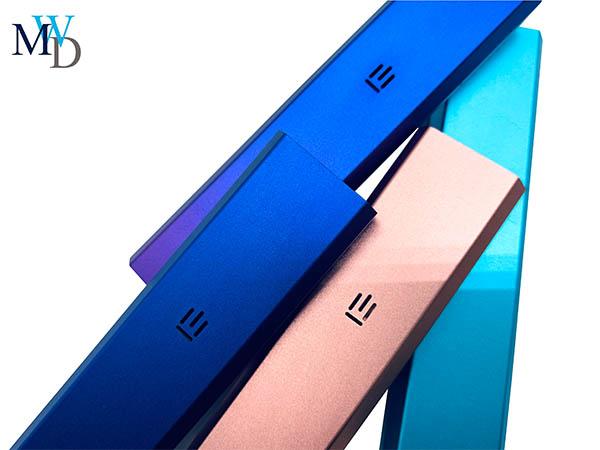 氧化彩色铝型材