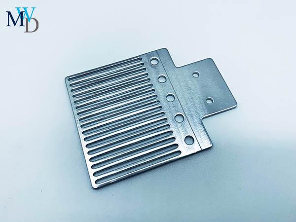 冲压铝散热片OEM连续冲压